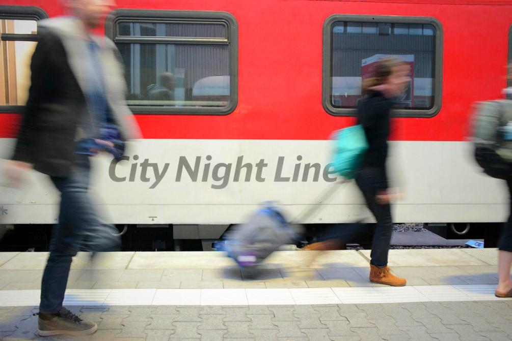Ночные поезда в Европе