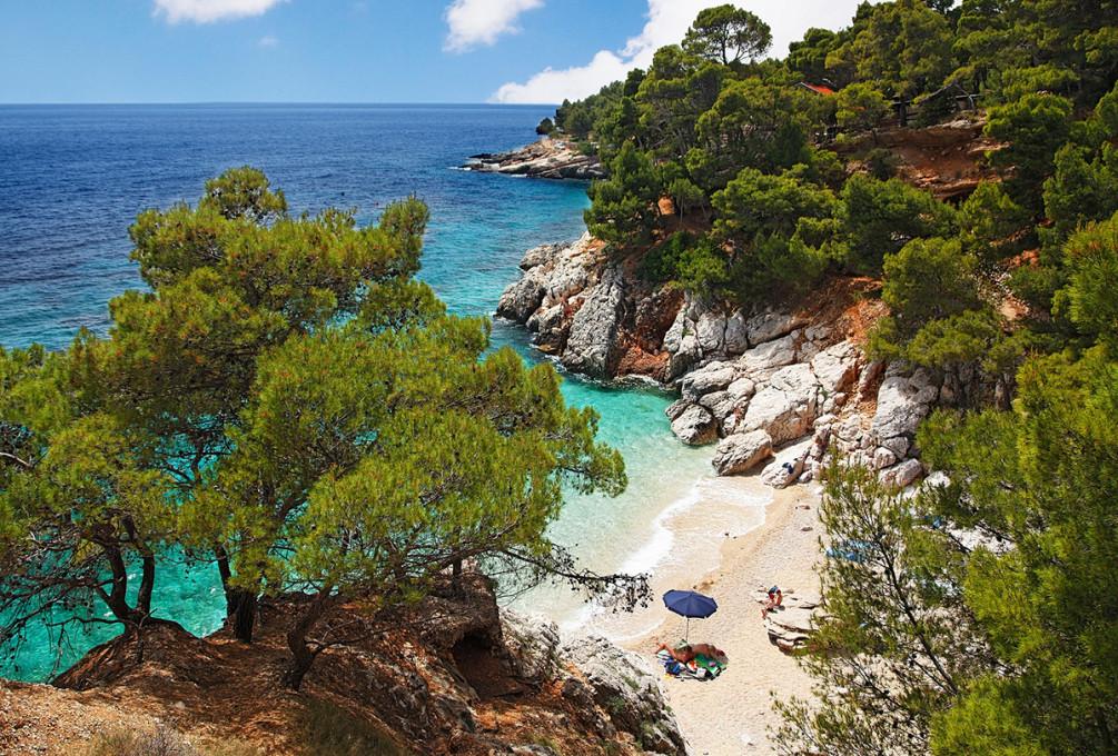 Best beaches Jagodna Bay Croatia