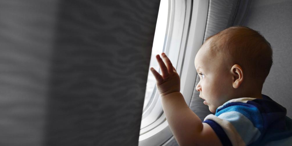 Путешествие с младенцем: перелеты