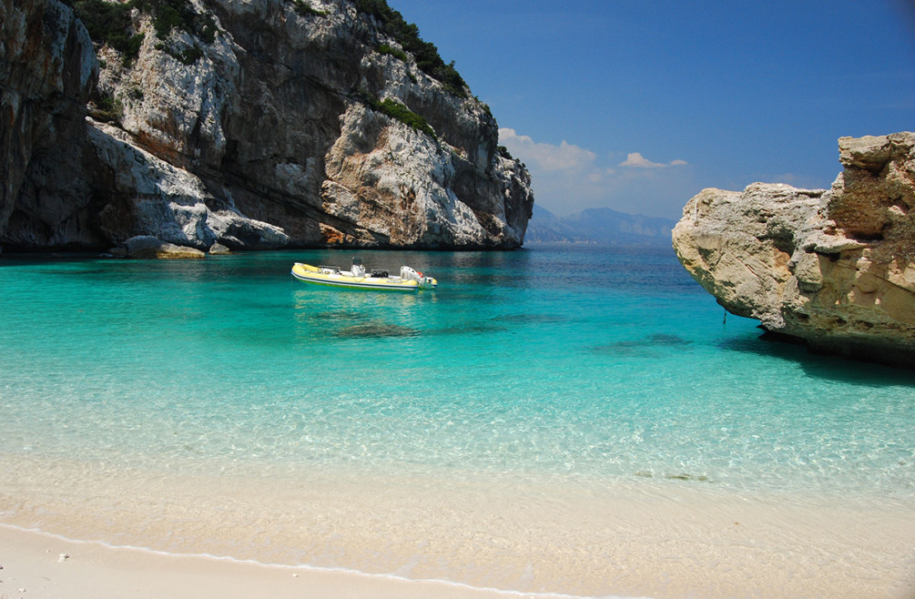 best beaches Cala Gonone, Sardinia
