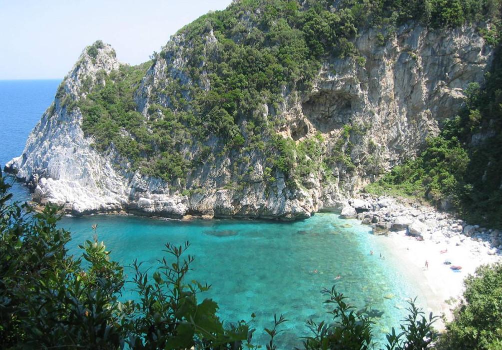best beaches Fakistra Greece