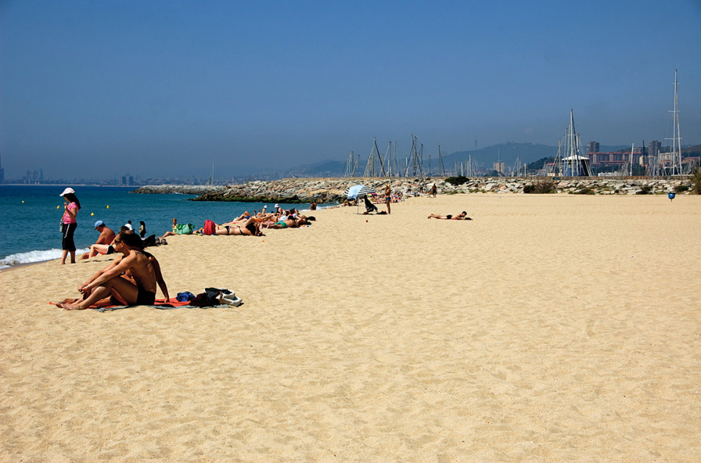 best beaches Ocata, Barcelona