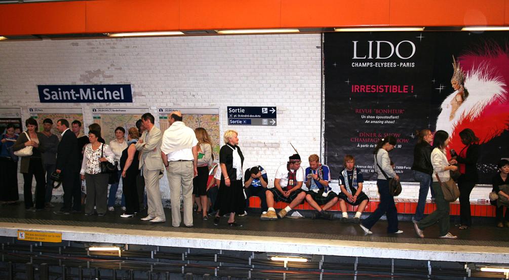 Особенности парижского метро