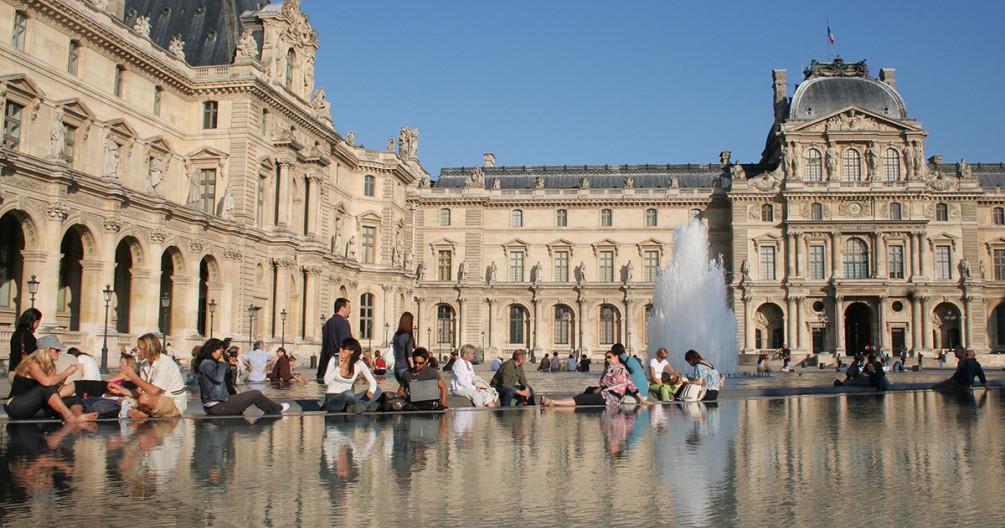 Париж и люди: 17 мгновений