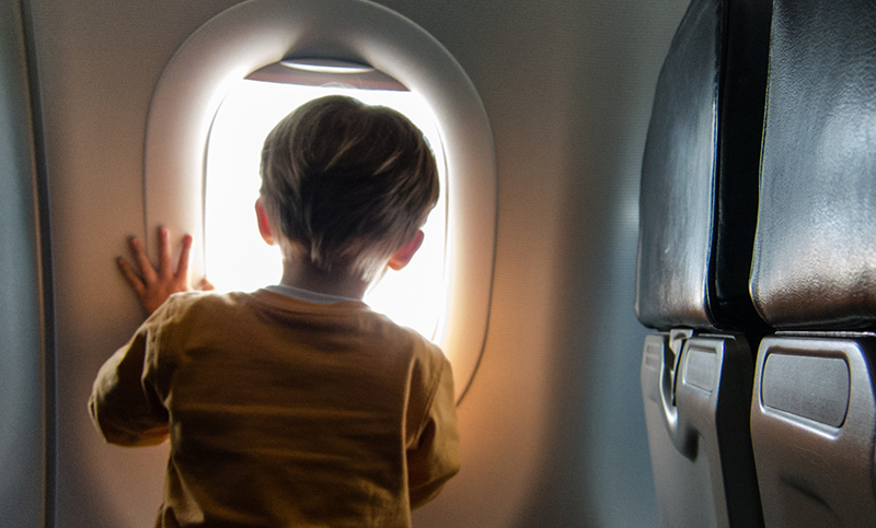 children travel